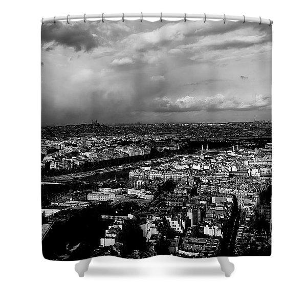Paris 3 Shower Curtain