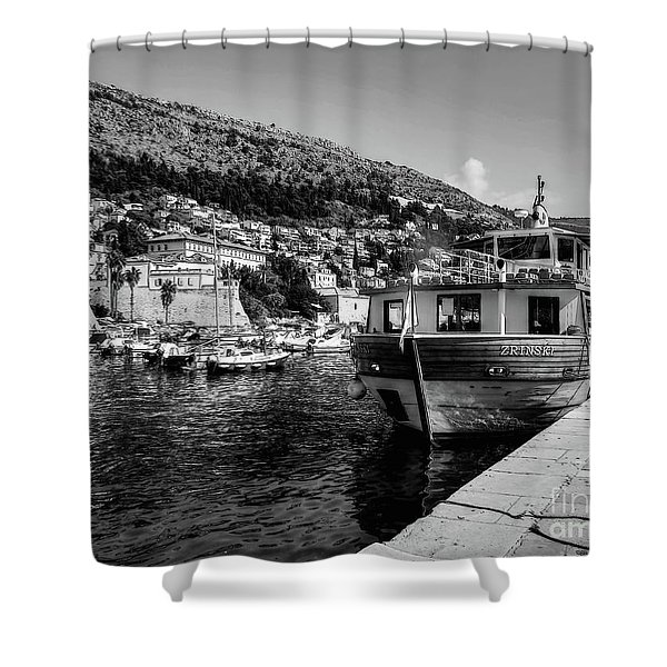 Heart Of The Harbour Shower Curtain