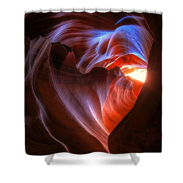 Heart Of The Navajo Shower Curtain