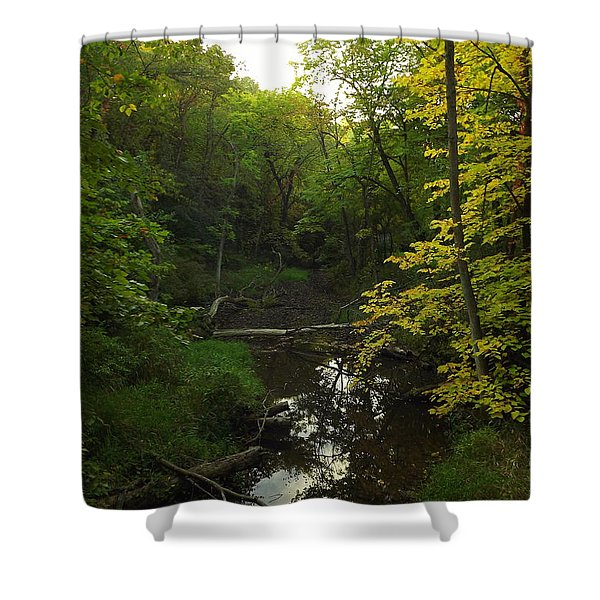 Heart Of The Woods Shower Curtain