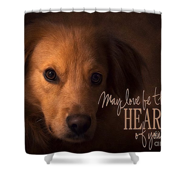 Heart Of Your Home  Shower Curtain