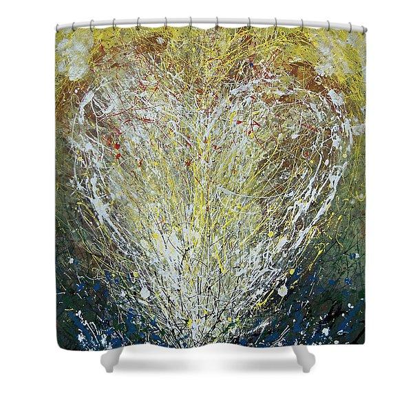 Heart One Shower Curtain