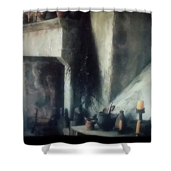 Hearth Shower Curtain