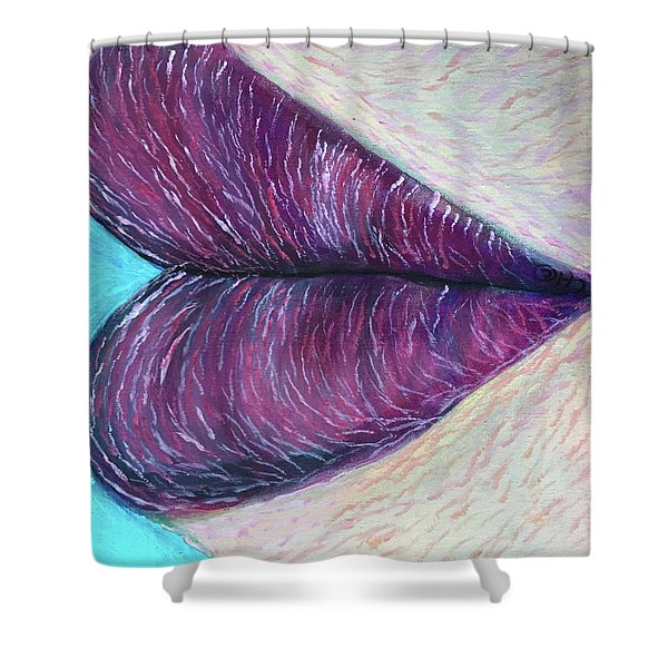 Heart's Kiss Shower Curtain