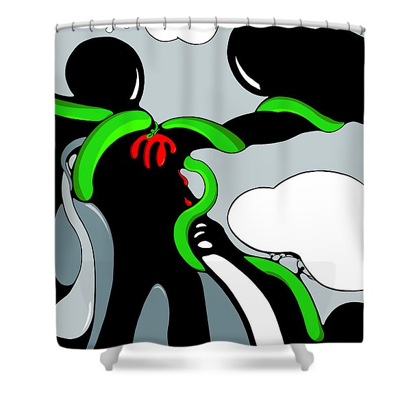 Hearty Shower Curtain
