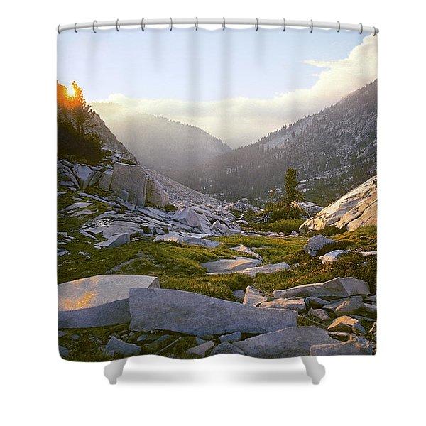 Heaven Can't Wait Shower Curtain