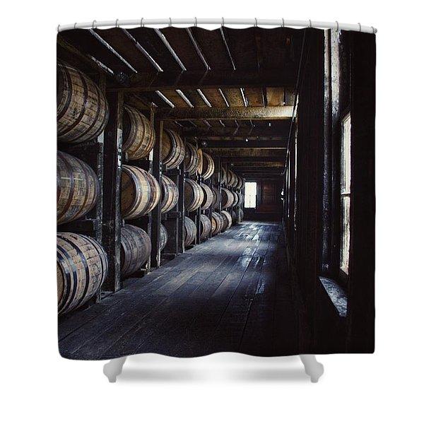 Heaven Hill Barrels  Shower Curtain