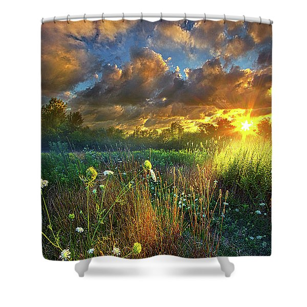 Heaven Knows Shower Curtain