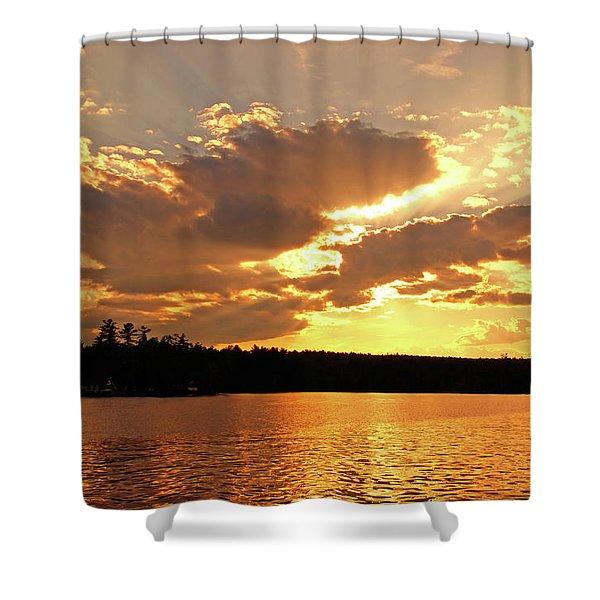 Heaven Shining Shower Curtain