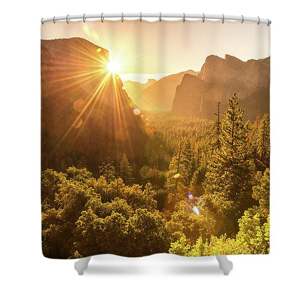 Heavenly Valley Shower Curtain