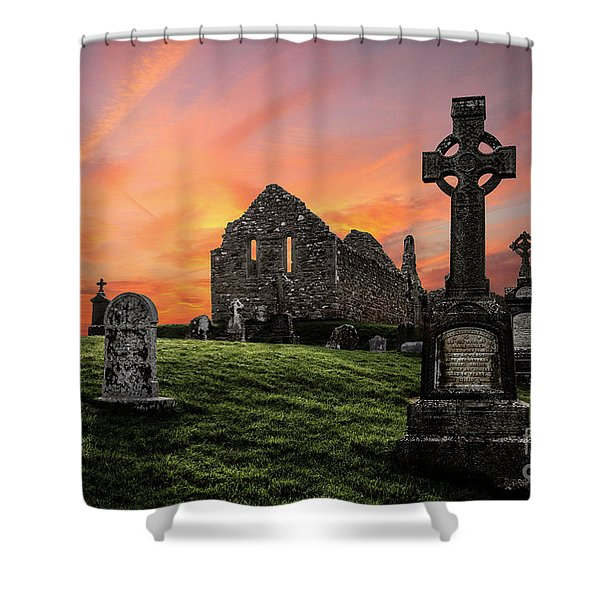 Heaven's Call Shower Curtain