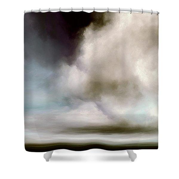 Heavens Divide Shower Curtain