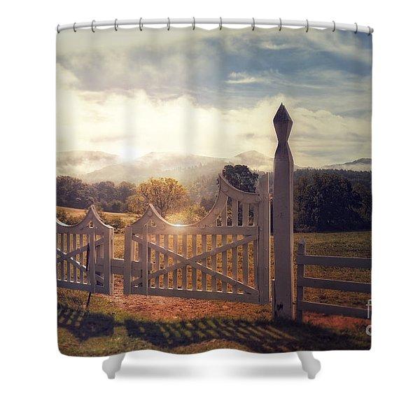 Heaven's Gate 2 Shower Curtain