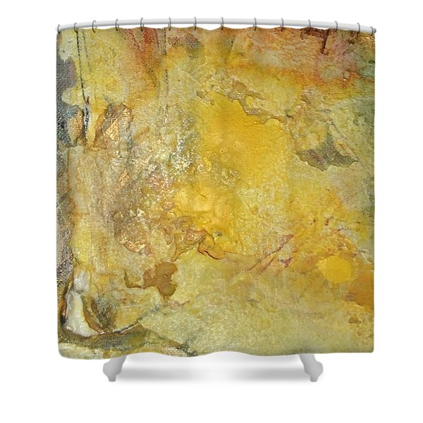 Heavens In Flux Shower Curtain