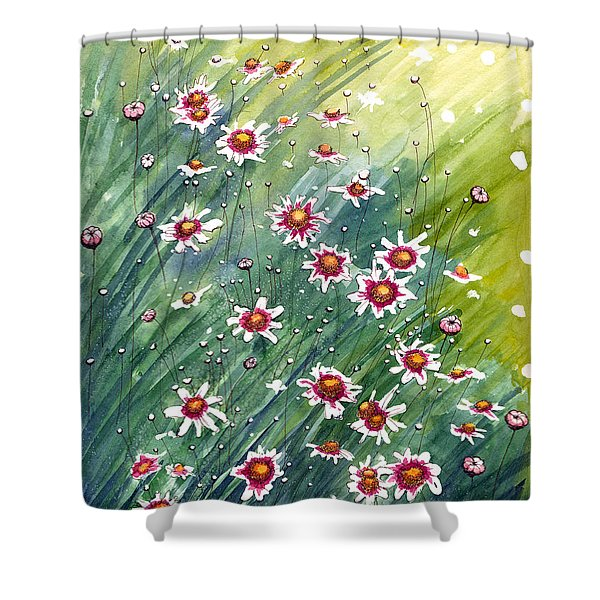 Coreopsis Shower Curtain