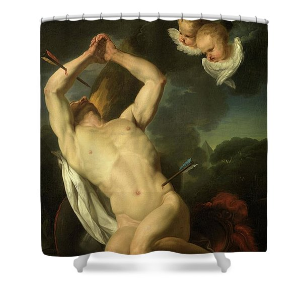 Heilige Sebastiaan Shower Curtain