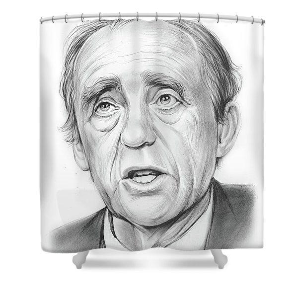 Heinrich Boll  Shower Curtain