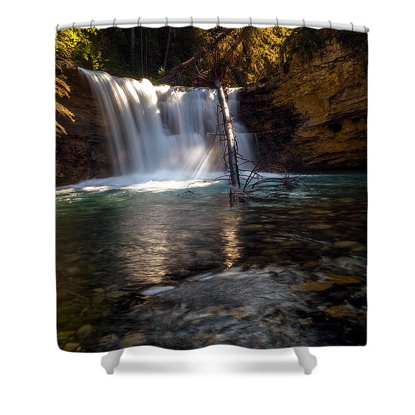 Heir Of Time Shower Curtain