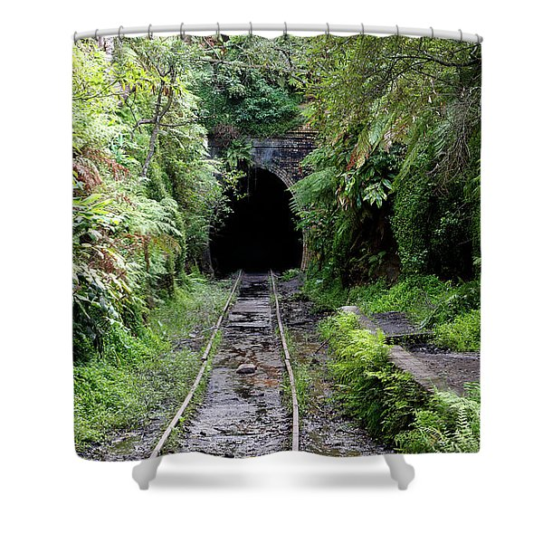 Helensburgh Old Station Shower Curtain