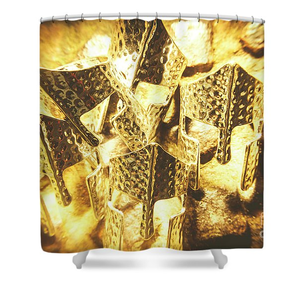 Helm Of Power Shower Curtain