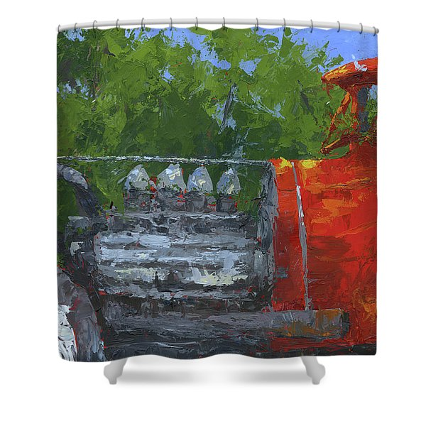 Hemi Hot Rod Shower Curtain