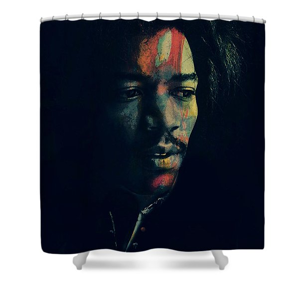 Hendrix  Shower Curtain