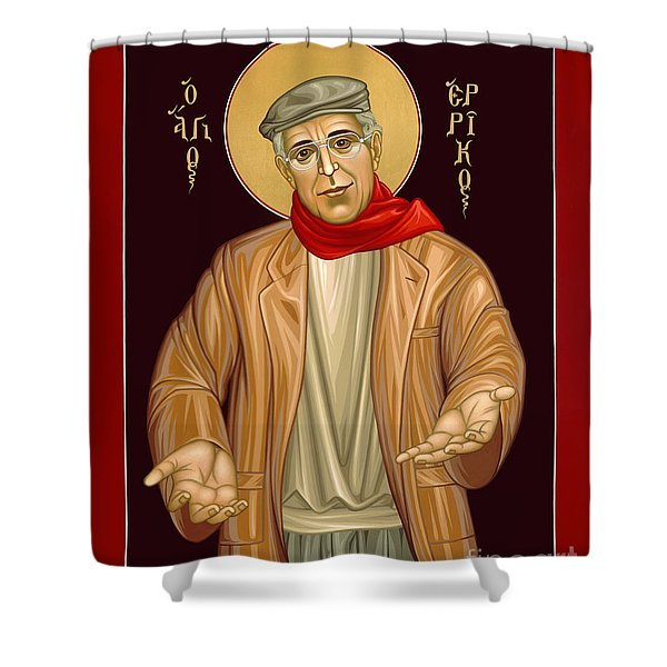 Henri Nouwen - Rlhen Shower Curtain