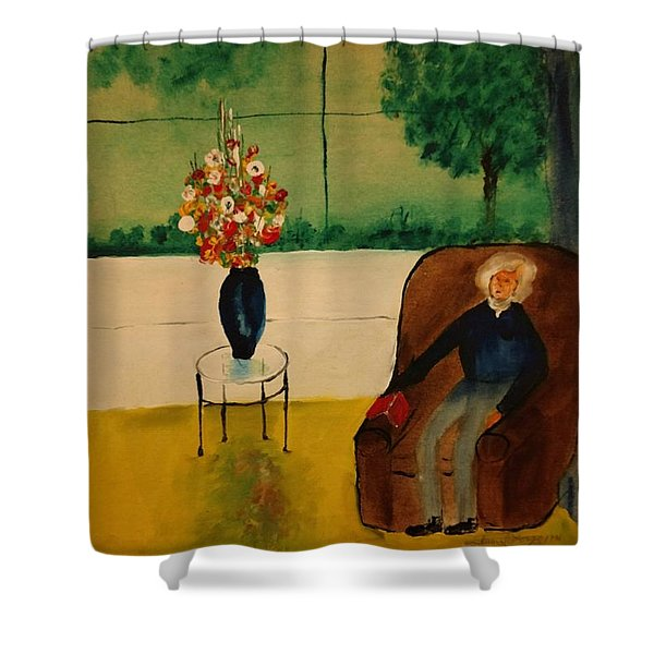Henry Thoreau Shower Curtain