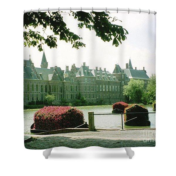 Her Majesty's Garden Shower Curtain