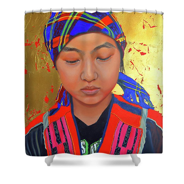 Her Story Shower Curtain