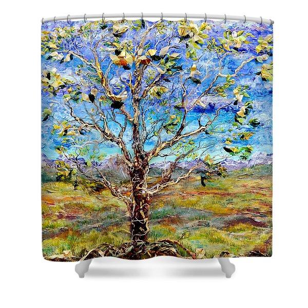 Herald Shower Curtain