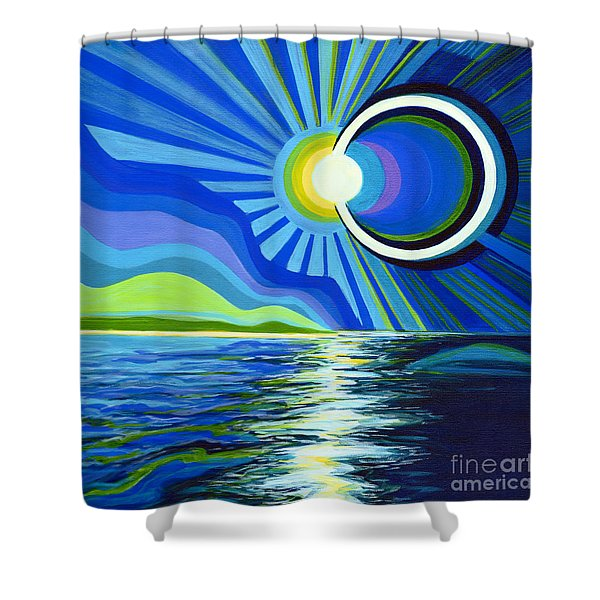 Here Come The Sun Shower Curtain