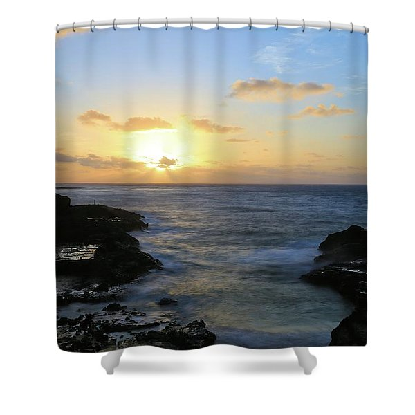 Here To Eternity Shower Curtain