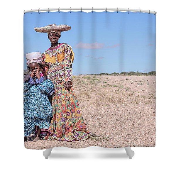 Herero - Namibia Shower Curtain