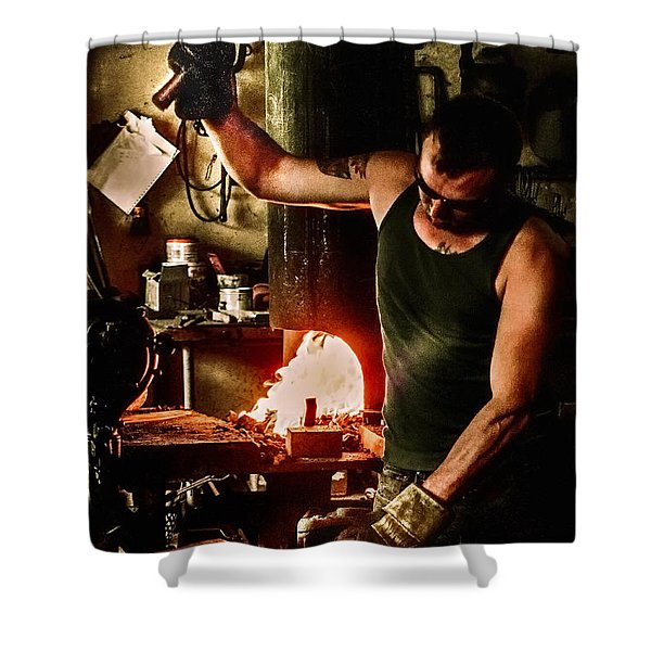 Heritage Blacksmith Shower Curtain