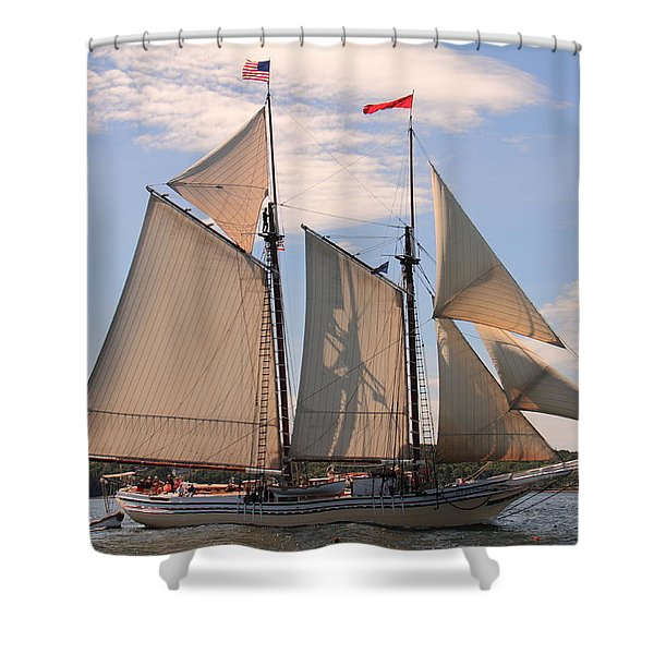 Heritage Full Sail Shower Curtain