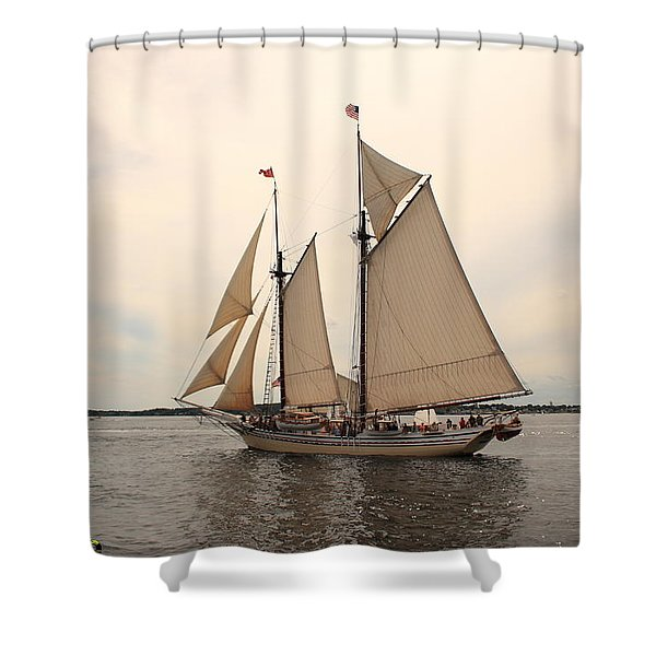 Heritage In Penobscot Bay Shower Curtain