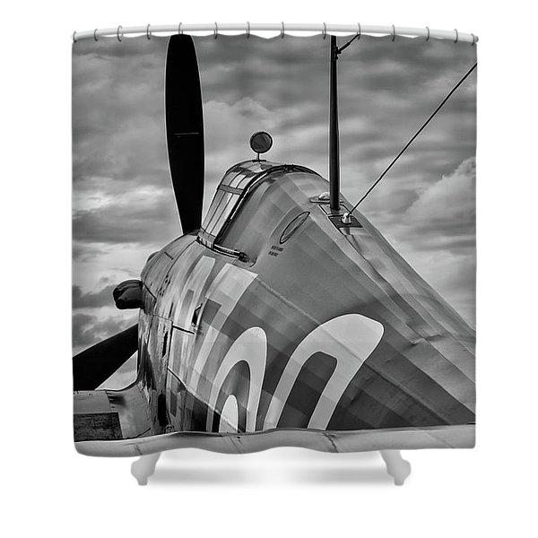 Hero Of Britain Shower Curtain