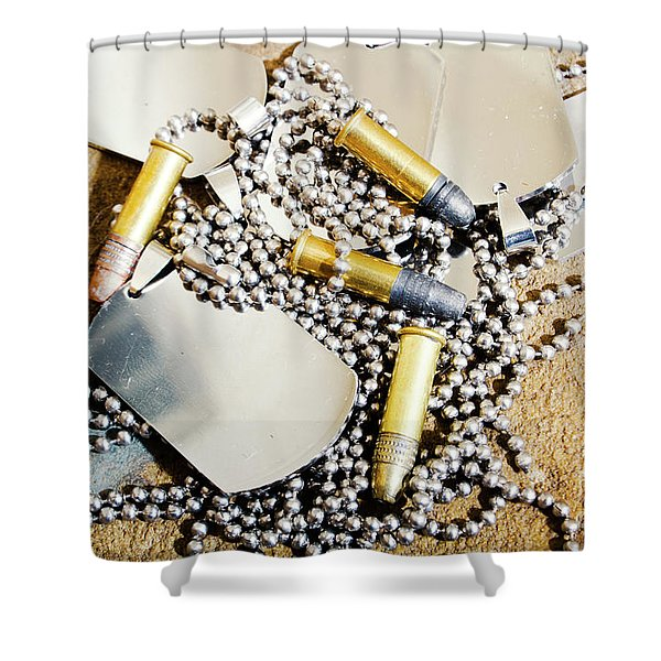 Heroes Of Service Shower Curtain
