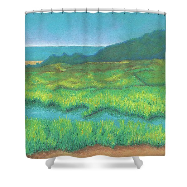 Heron's Home Shower Curtain
