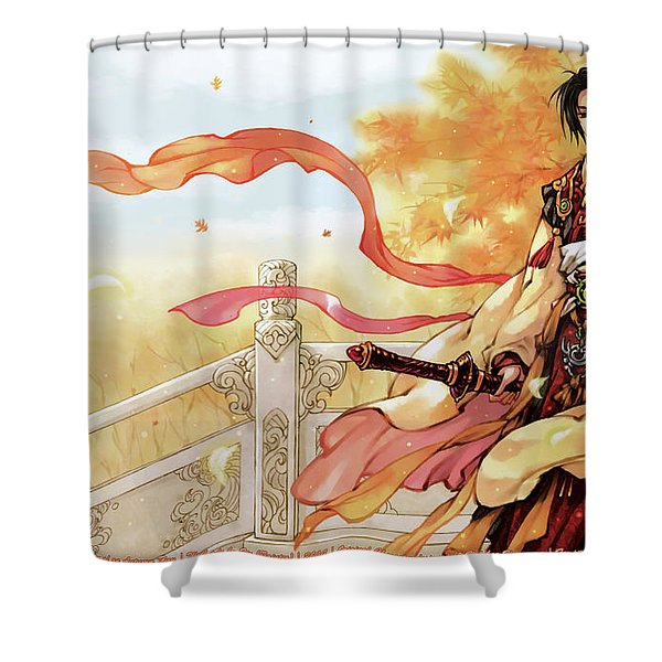 Hetalia Axis Powers Shower Curtain