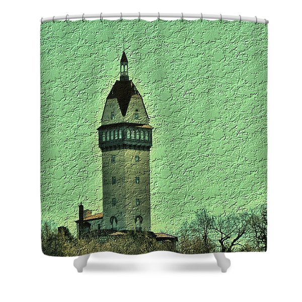 Heublein Tower Shower Curtain