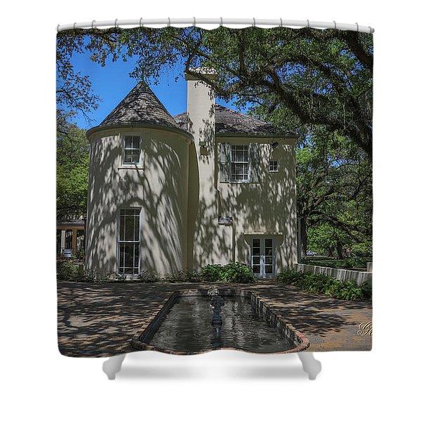 Heyman House Fountain Shower Curtain