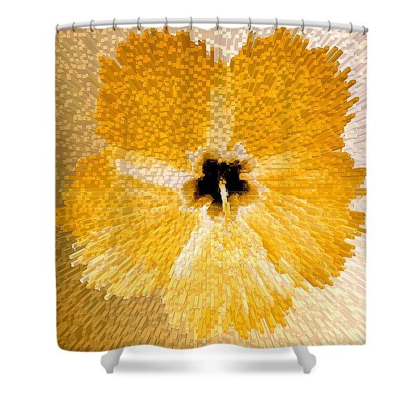 Hibiscus Explosion Shower Curtain