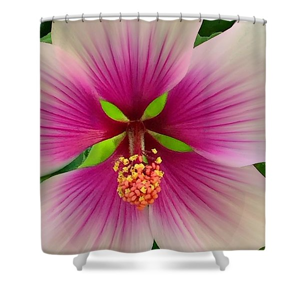 Hibiscus Face Shower Curtain