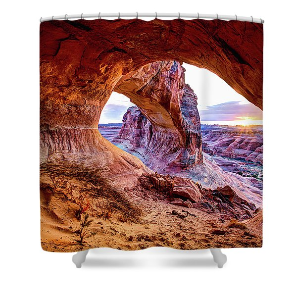 Hidden Alcove Shower Curtain