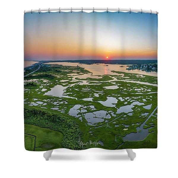 Hidden Beauty Pano Shower Curtain