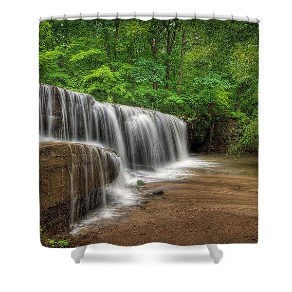 Hidden Falls  Shower Curtain