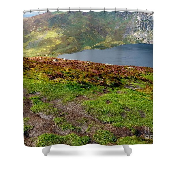 Hidden Lake Shower Curtain