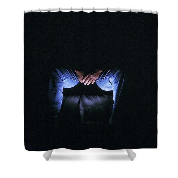 Hidden Lives Shower Curtain